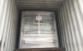 FILL-PACK La machine a exporté le conteneur de 40 pi à Johannesburg de l'Afrique